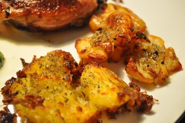Knuste kartofler – Jensens Madblog