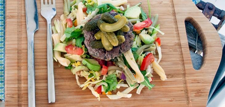 boef-agurker-salat