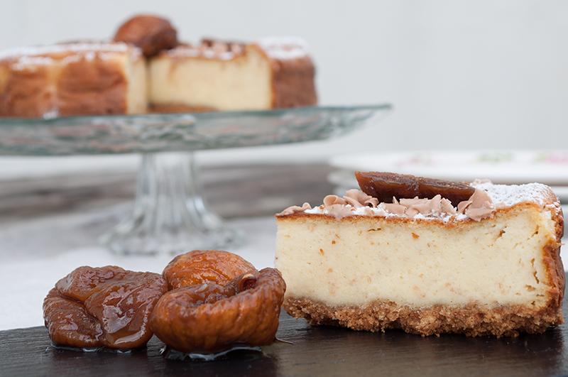 .. og selvfølgelig også en der er bagt - Amerikansk cheesecake