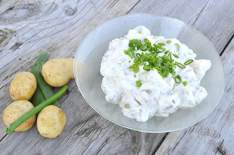 Rømø Pølser og Kartoffelsalat