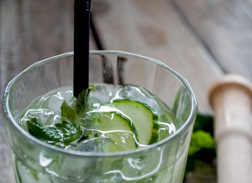 billede af en stor gin