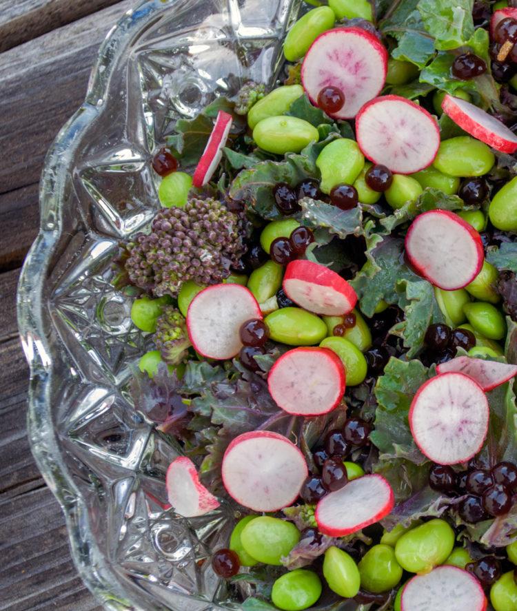 Strandkål-salat