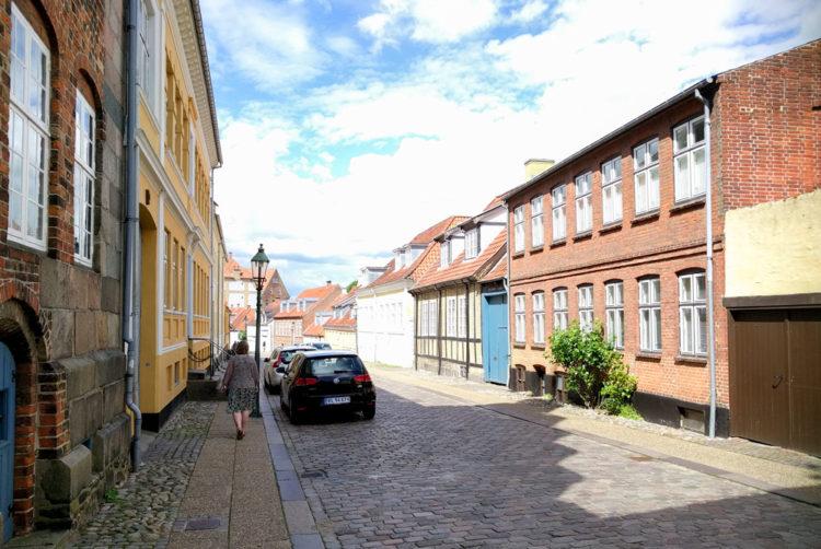 Viborg i regn og sol