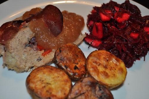 Farsbrød med æbler, æbler og æbler :)