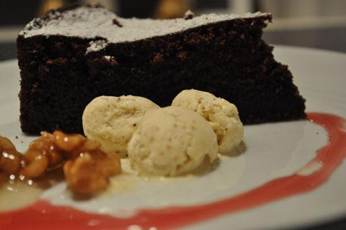 Mascarpone-Chokoladekage