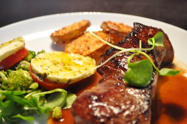 Bøf – tomater & mozarella