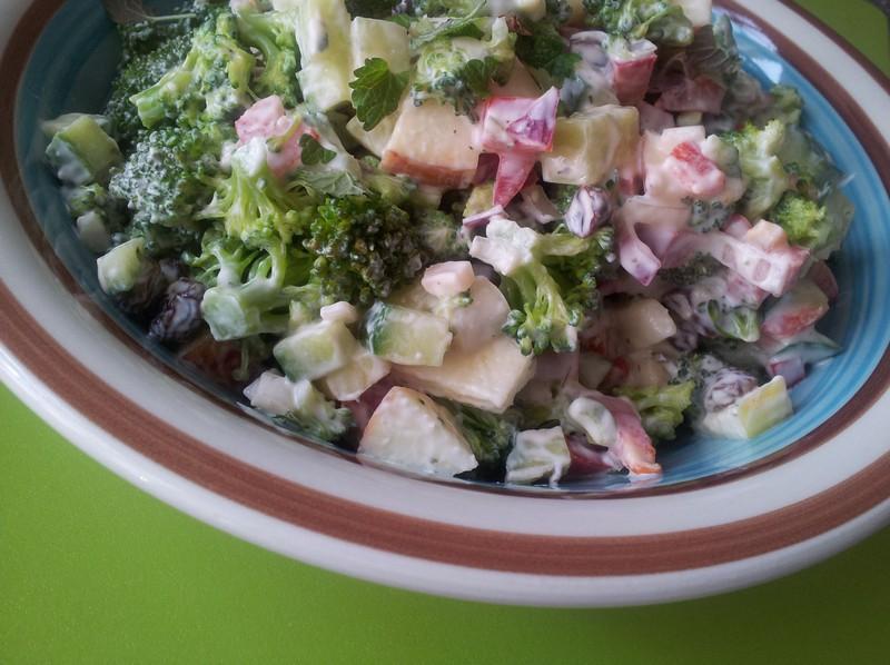 Broccolisalat igen igen….