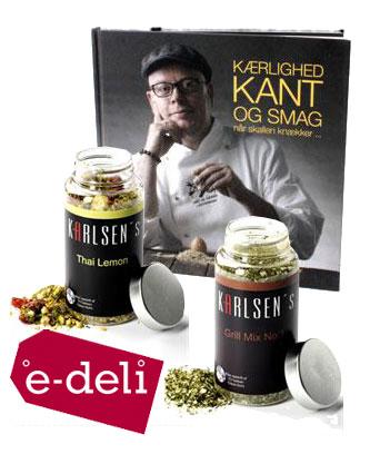 Karlsens Krydderier & bog af Claus Holm
