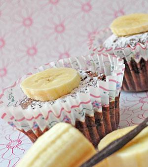 Små fine Banan Kager