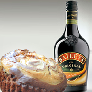 Baileys Brownies med Ost.