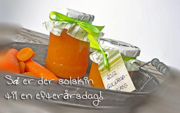Gulerod-Abrikos Marmelade