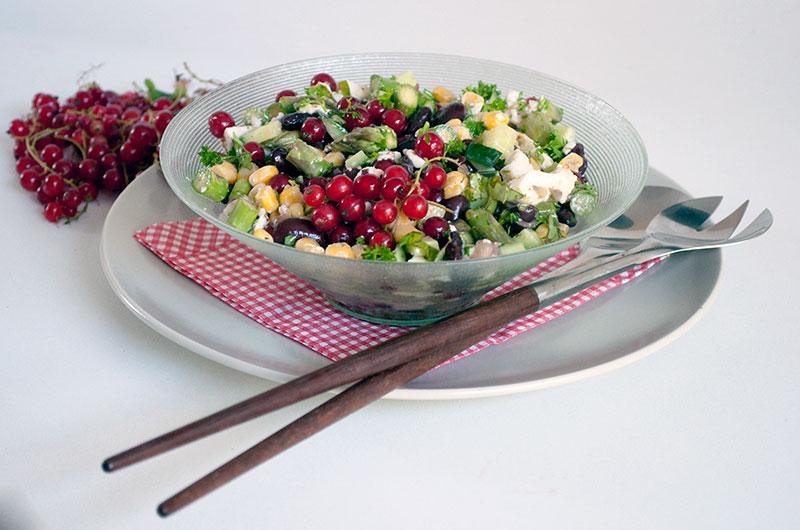 Sommersalat til grillmaden