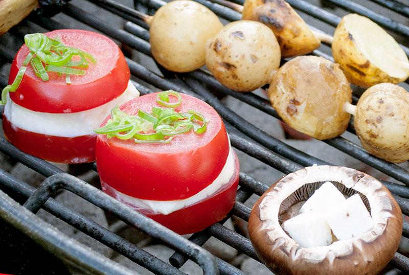 Tomater-mozarella