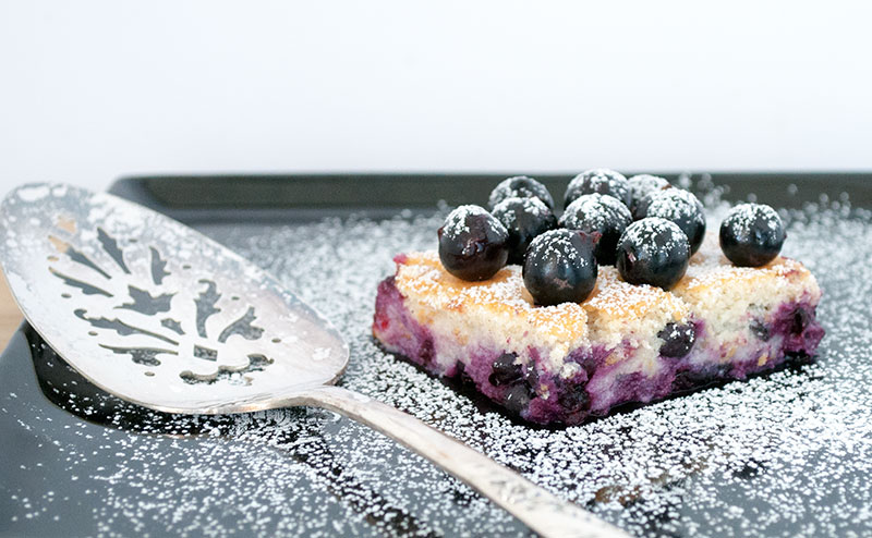 Ricotta kage med solbær