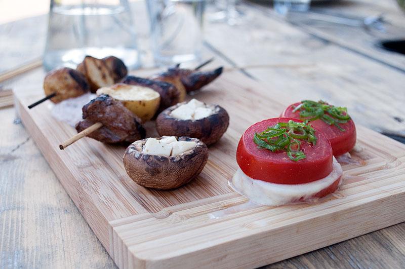 tomater-champignon-morbrad-grill