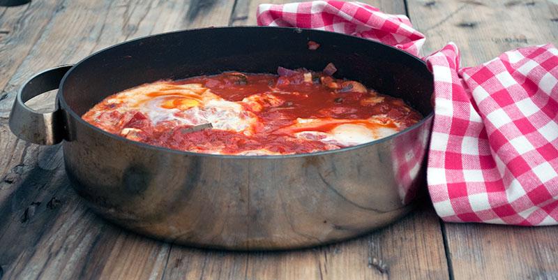 Shakshuka – eller tomat og æg