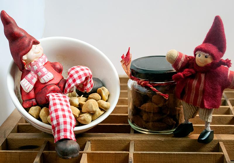 Chokolade Mandler med Lakrids