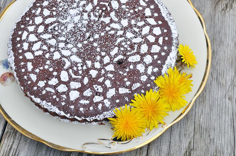 Chokoladekage med chili