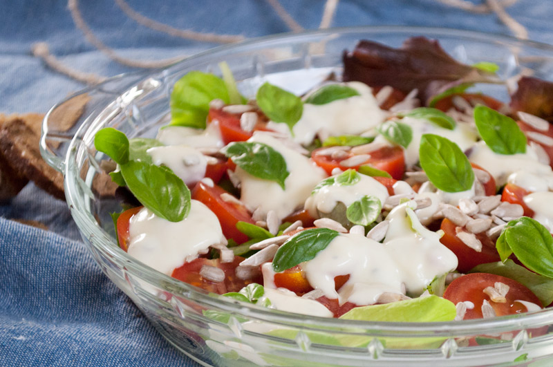 Salat fra haven