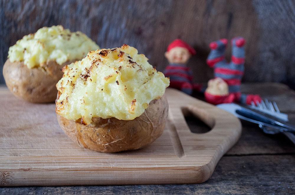 Fyldte Kartofler med Juledrys