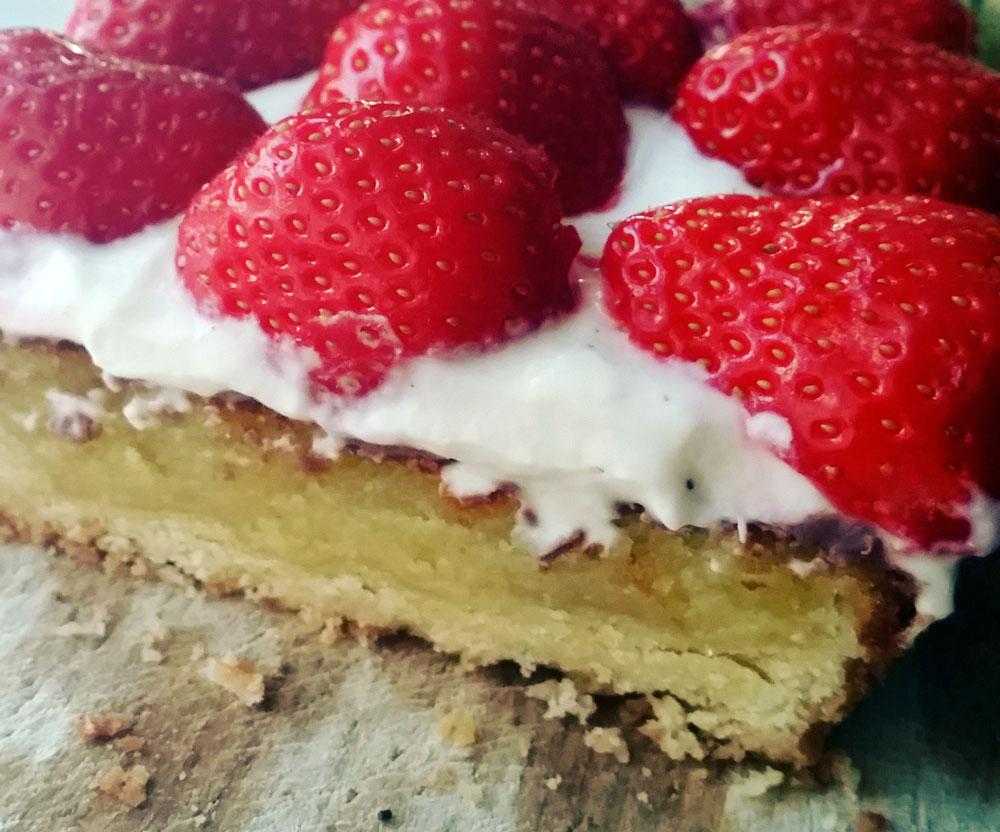 Jordbærtærte  og Silkeborg
