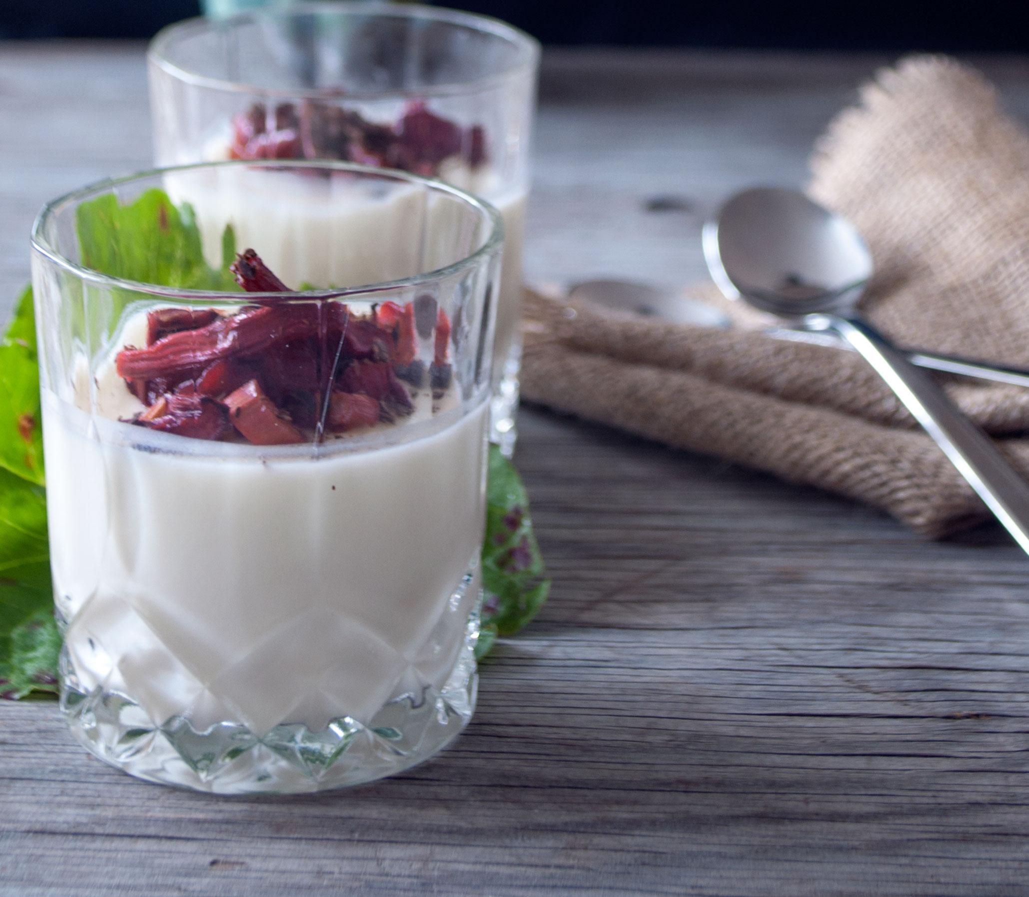 Panna Cotta med Kærnemælk