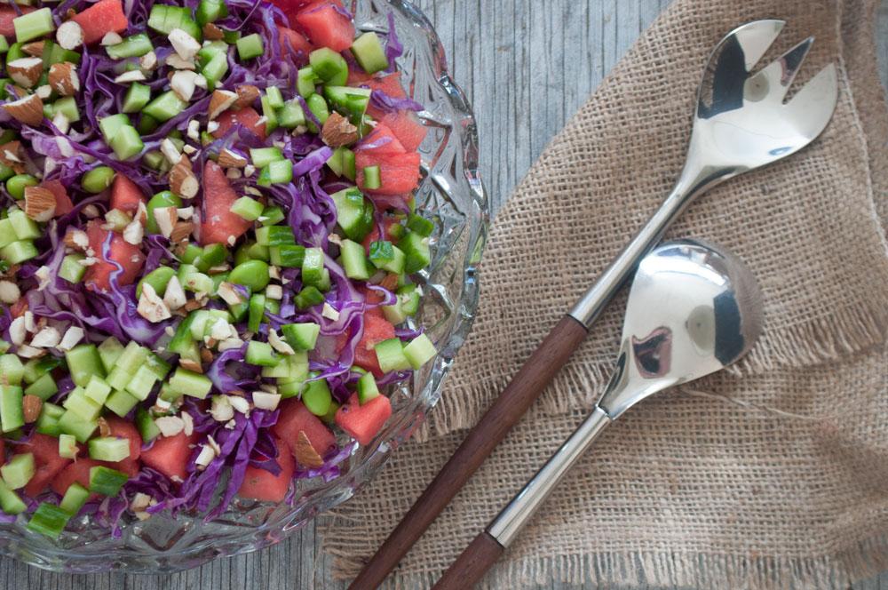 Salat med farver
