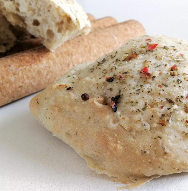 Tyrkisk brød med salt