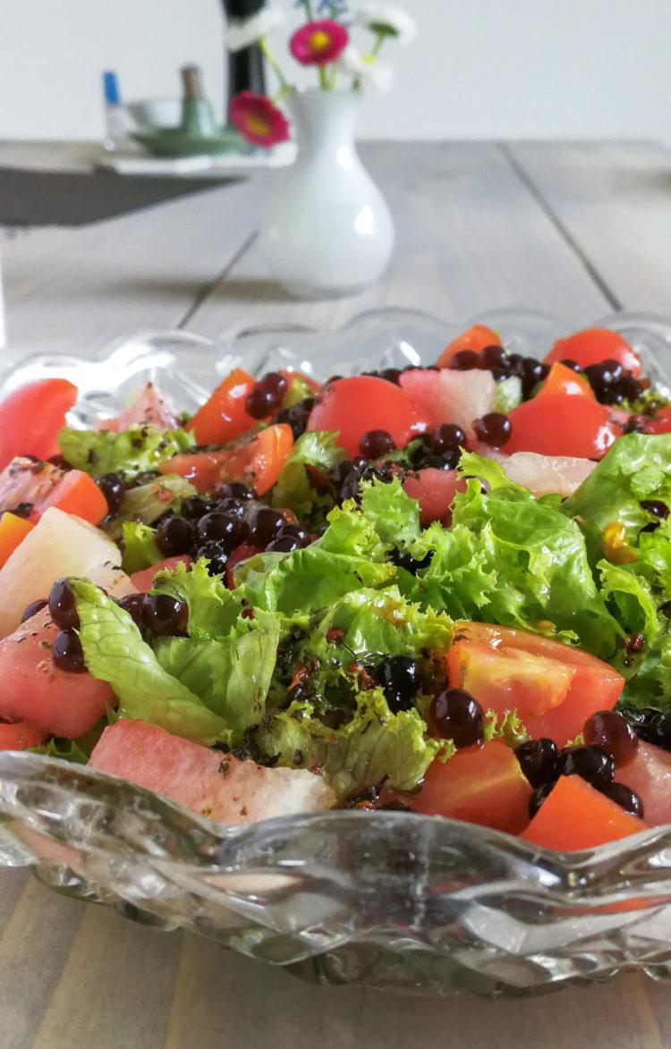 En travl uge med salater og nyt skab