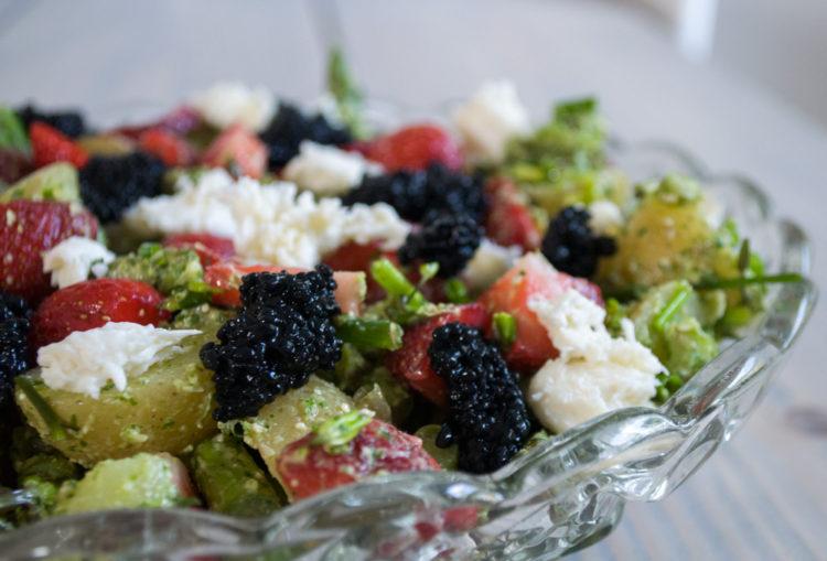 Kartoffelsalat med Persillepesto