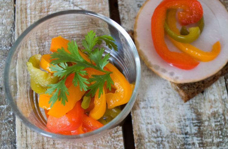 Syltede Peberfrugter