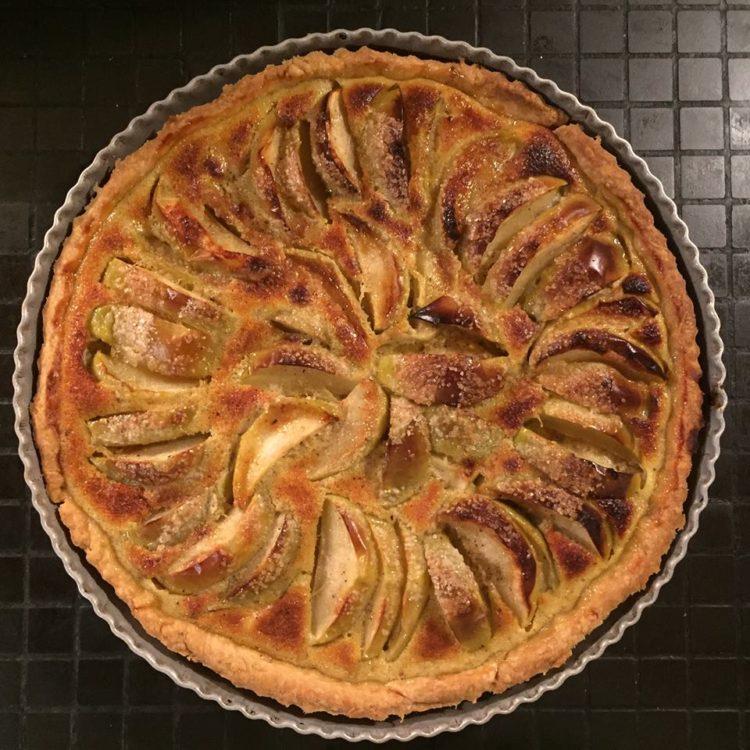 Franske ganer og Æbletærte uden pjat