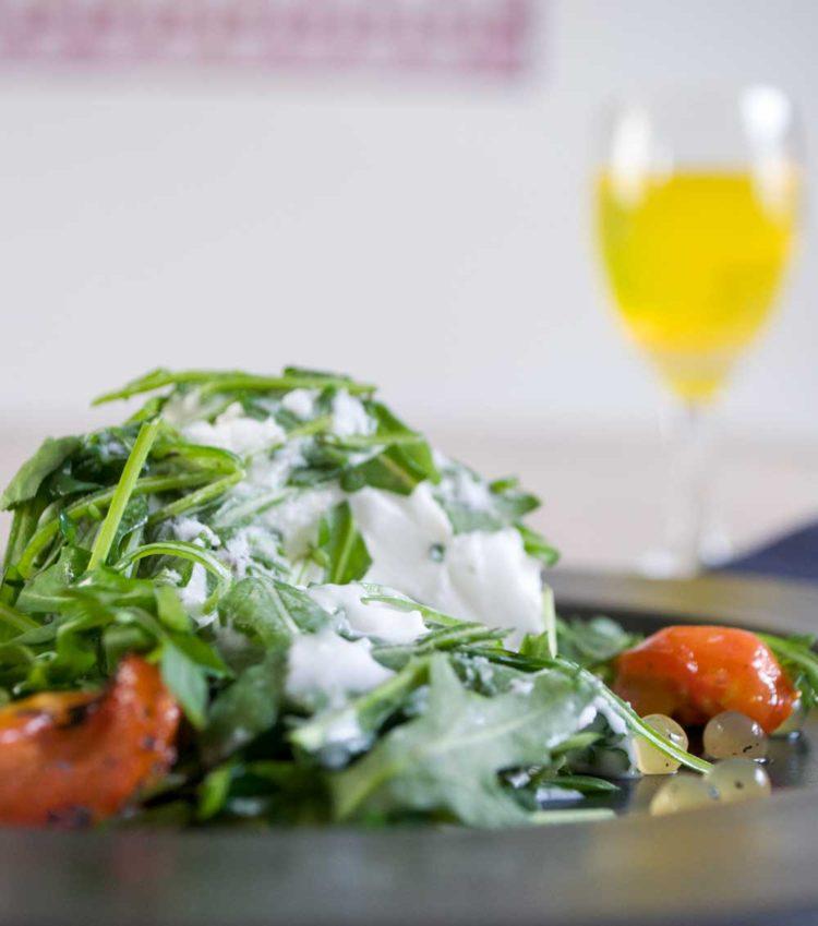 Citronis med Ruccola og tomater