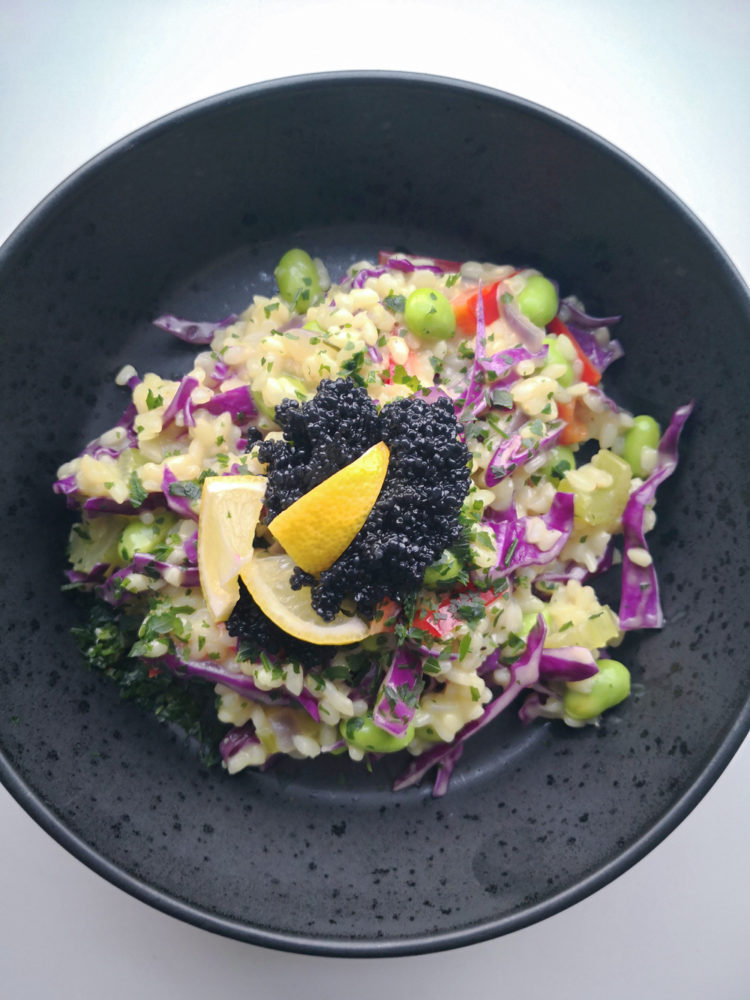 Risret med karry og grøntsager