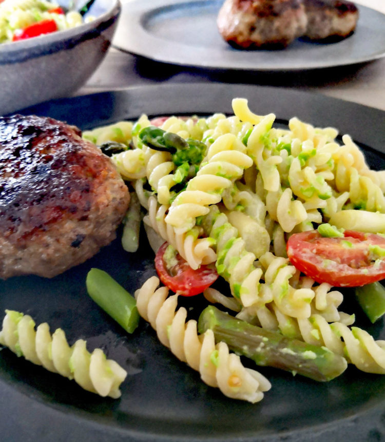 Hygge og Pasta med ærtepesto