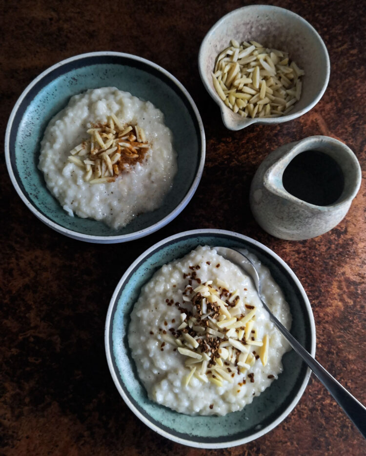 Kheer – Indisk Rice Pudding