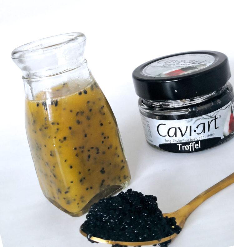 Vinaigrette med Cavi-art