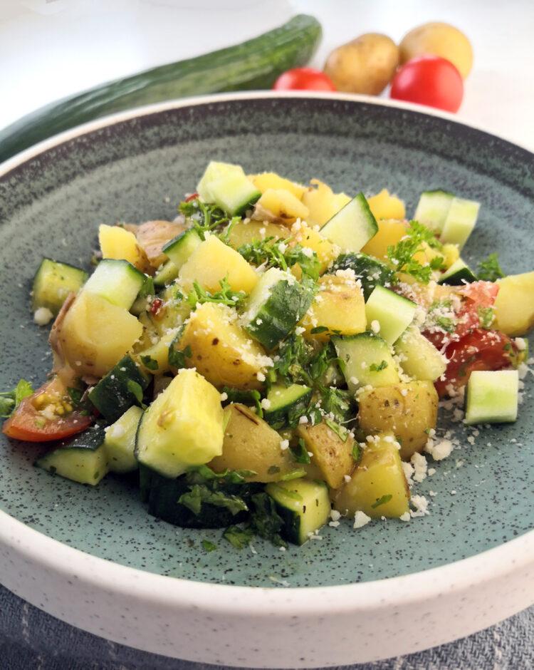Sommersalat med kartofler