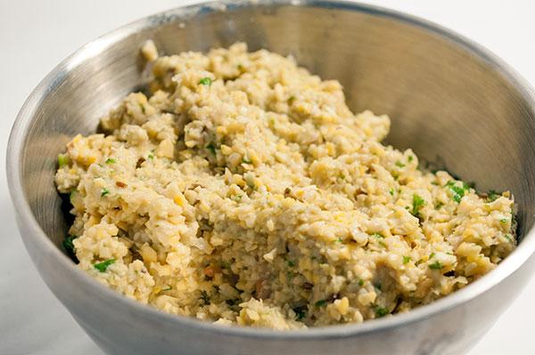 Falafel-masse