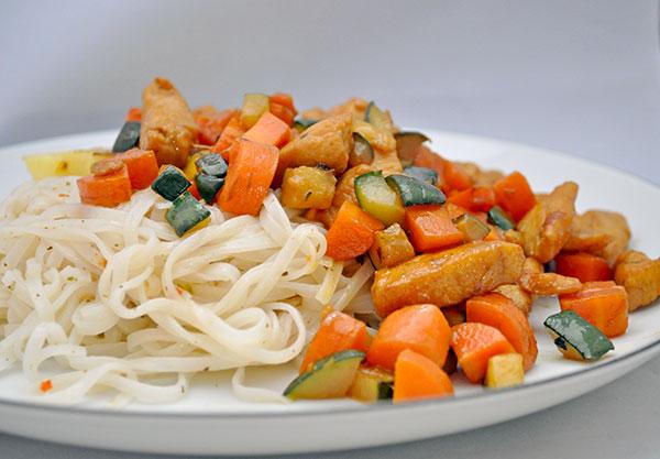 Lakridskylling i wok