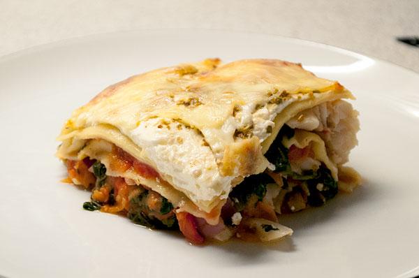 Lasagne-torsk