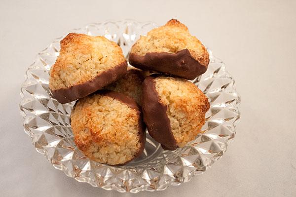 Kokoskager med smag af honningkage